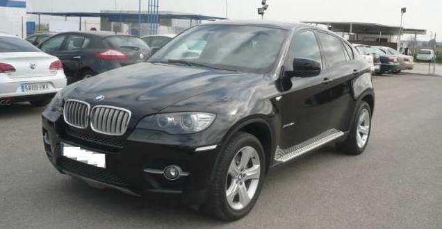 BMW X6 frente